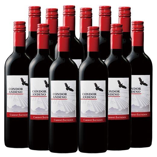 【送料無料】コンドール・アンディーノ・カベルネ・ソーヴィニヨン12本セット [赤ワイン][ワインセット]  【7777381】