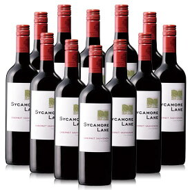 【送料無料】シカモア・レーン・カベルネ 12本セット [赤ワイン][ワインセット] 【7783211】