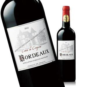 コント・ド・クレサック'16(ACボルドー 赤 フルボディ)[赤ワイン] 【7784845】