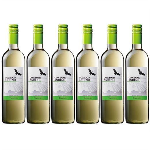 コンドール・アンディーノ・トロンテス 1種6本セット アルゼンチン 辛口 白ワイン ワインセット  【7786653】