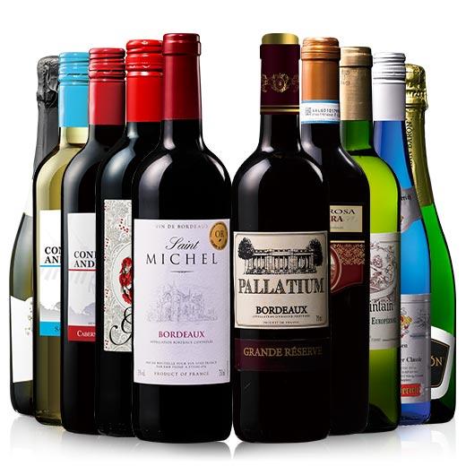 【送料無料】【41%OFF】3大銘醸地入り!世界の赤白スパークリングワインお得10本セット 第2弾 [ワインセット] [白 辛口 発泡][赤ワイン][白ワイン][スパークリングワイン]【7792144】