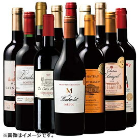 【 送料無料 】ボルドーワイン 金賞赤ワイン12本お楽しみセット  [赤ワイン][ワインセット][わいん][wine][ボルドーワイン] 【7775503】