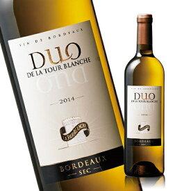 デュオ・ド・ラ・トゥール・ブランシュ'14(ACボルドー 白 辛口) 白ワイン 【7776739】
