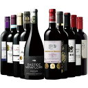 【送料無料】【45%OFF】パーカー94ポイント&トリプル金賞受賞格上ボルドー入り!世界選りすぐり赤ワイン10本セット 【7789735】 赤ワイン ワインセット フルボディ
