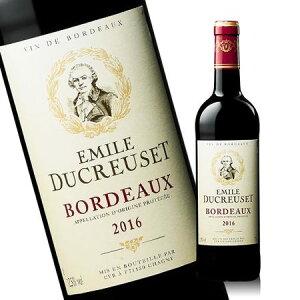 エミール・デュクルーゼ'16(ACボルドー 赤 フルボディ) 赤ワイン 【7784509】