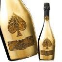 【送料無料】アルマン・ド・ブリニャック・ゴールド(ACシャンパーニュ 白 辛口 発泡) スパークリングワイン シャン…