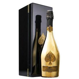【送料無料】【箱入り】アルマン・ド・ブリニャック・ゴールド(ACシャンパーニュ 白 辛口 発泡) スパークリングワイン シャンパーニュ 【7787379】