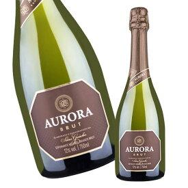 オーロラ・ブリュット・スパークリング(白 辛口 発泡) スパークリングワイン 【7786442】