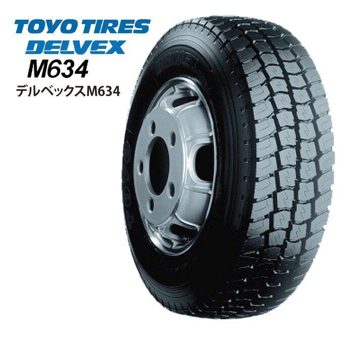 サマータイヤ TOYO TIRES DELVEX M634 195/85R16 114/112L バン・小型トラック用