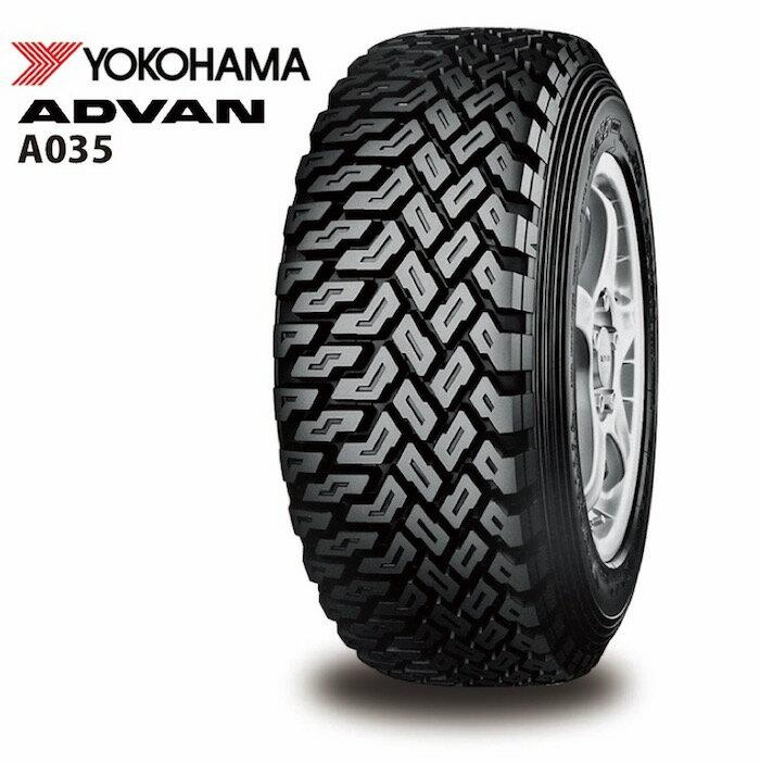 サマータイヤ YOKOHAMA ADVAN A035 185/65R14 86Q Sコンパウンド ダート・ラリー用