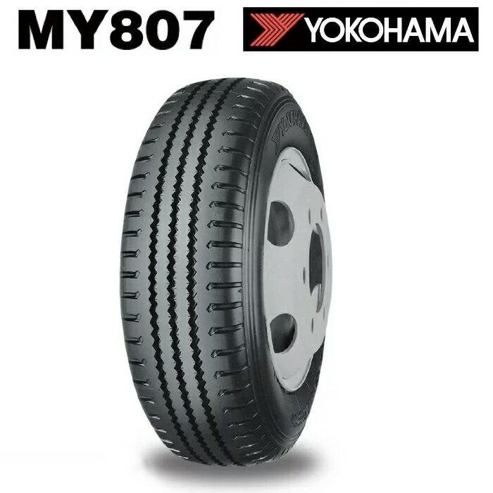 サマータイヤ YOKOHAMA MY807 チューブレス 185/85R16 111/109L バン・トラック用