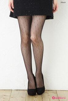 (黑色和白色) 點緊身衣羅素 ♪ 淨緊身衣網圖案的緊身褲襪襪子女士放養淨緊身衣女士 !-ZB