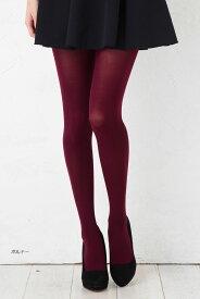 80デニール カラータイツ 全14色 マチ付き ゾッキ編み (M-Lサイズ) ストッキング コスプレ レディース color tights ladies