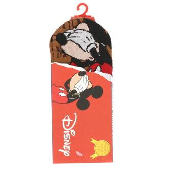 Disney chocolate socks blindfold Mickey sneakers length (23-25cm) socks Lady's socks ladies