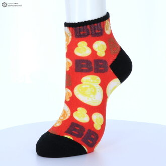 It is sneakers length socks men Star Wars socks mens STAR WARS 360 degrees print socks (BB-8 pattern) (ankle length) (25-27cm)