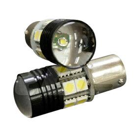 S25 LED ダブル ピンチ部違い 180° ホワイト CREE 12発 キャンセラー内蔵 2個 ブレーキランプ ストップランプ テールランプ 等 バルブ 白 BMW ベンツ アウディ 等 bay15d 180度 対応 _24151