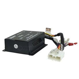 トラック 24V オーディオ ナビ 取付キット 12V用 ナビ オーディオが24Vで使える カプラー簡単取付 デコデコ コンバーター コネクター 組立済み _44129
