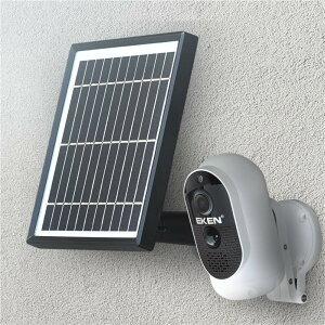 防犯カメラ ワイヤレス 屋外 室内 工事不要 小型 wifi ソーラー usb Wi-Fi 監視カメラ ベビーモニター ペットカメラ インターホン 録画 通話 防水 暗視 遠隔 配線不要 玄関 駐車場 スマホ モニタ