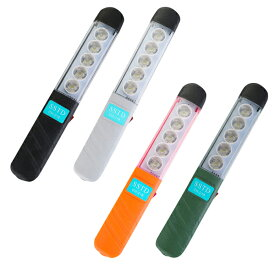 作業灯 LED ワークライト USB充電式 高輝度 SMD 2000lm 軽量 選べる4色 整備 メンテナンス キャンプ アウトドア レジャー ステック式 ワークライト 明るい 照明 ライト 対応 @86300
