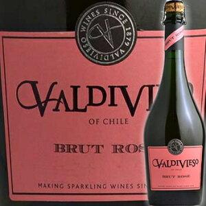 バルディピエソ ブリュット ロゼ ワイン スパークリング チリ 750ml スパークリングワイン ワイン 泡 発泡