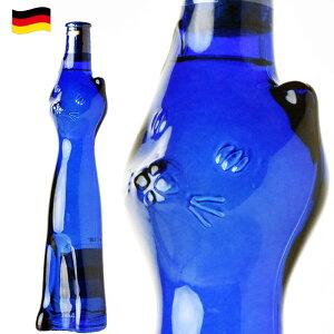 ブルー ネコボトル G.A.シュミット ラインヘッセン リースリング QBA 白 ドイツ 500ml ツェラー・カッツ ネコ 猫 ワイン ギフト ワイン 甘口 白 バレンタイン ホワイトデー 母の日 c