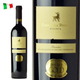 テレ・デラ・ブルンダ リゼルヴァ DOC イタリア 赤 ワイン 金賞 750ml イタリアワイン ベルリン・ワイン・トロフィー 金賞受賞