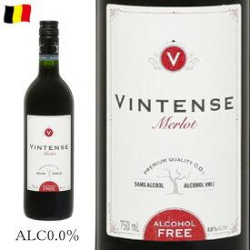ヴィンテンス メルロー 750ml ノンアルコール赤ワイン c
