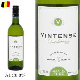 ヴィンテンス シャルドネ 750ml ノンアルコール白ワイン 新ラベル c