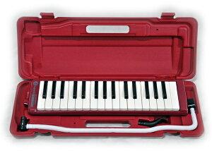 HOHNER STUDENT32/RED+MM-P1(ホース&マウスピース予備) 32鍵 鍵盤ハーモニカ メロディカ ホーナー 学用品としてもお使い頂けます!【楽ギフ_包装選択】【楽ギフ_のし宛書】【RCP】【P2】