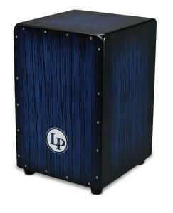 カホン LP エルピー LPA1332-BBS LPA-1332 Blue Burst Streak Aspire Accents Cajon アクセントカホン ラテンパーカッション クリスマスプレゼントやお誕生日プレゼントにもおすすめの、初心者向けカホン【R