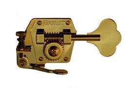 ベース用エクステンダー ゴールド ヒップショット Hipshot BT-3G 20300G Gold Xtender ラージヘッド用、片側4連タイプ ベースペグの第4弦に使用