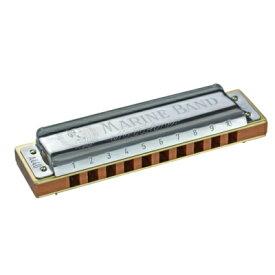 ハーモニカ Hohner/ホーナー 10穴ハーモニカ Key:E♭(イーフラット) Marineband 1896/20 マリンバンド【RCP】