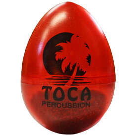 TOCA/トカ T-2104 Egg Shaker Gel RD☆T2104 Gel Assorted RD エッグシェイカー レッド 1個 Percussion パーカッション【RCP】