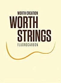 WORTH STRINGS ウクレレ弦 セット弦(1) ソプラノ・コンサート向き BM ミディアム ブラウンフロロカーボン ワースストリングス【RCP】
