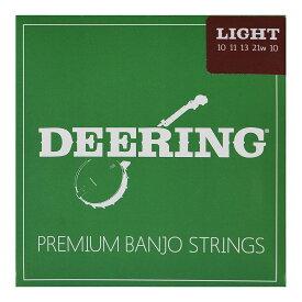【18日23:59までポイント10倍!】5弦バンジョー弦 DEERING ST-L5 ライトゲージ ディーリング