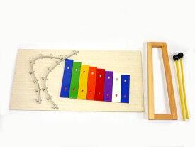 鉄琴組立キット/作成キット グロッケン 楽器製作【自由工作にも最適!】HOSCO MX-KIT-1 DIY【RCP】