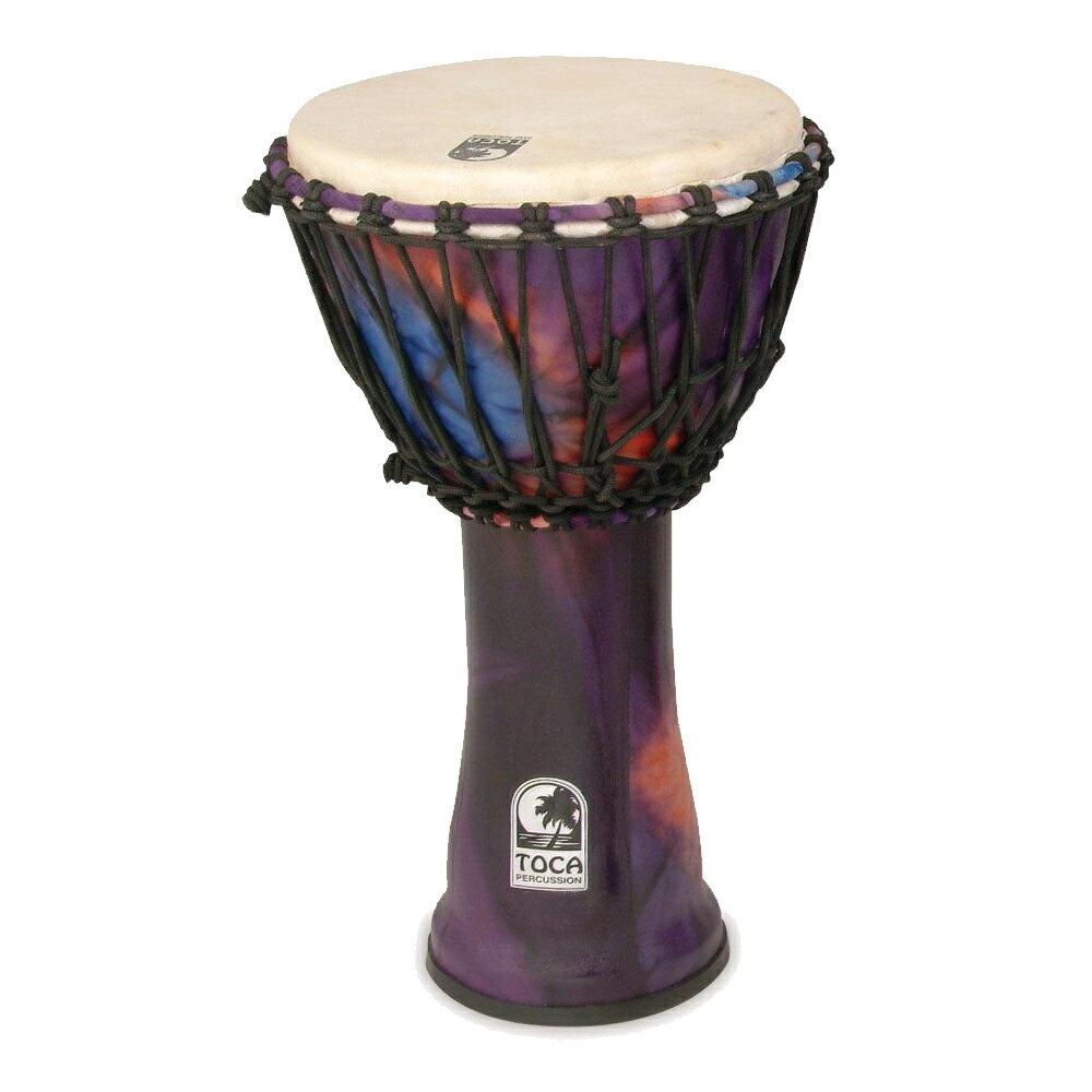 TOCA/トカ SFDJ-10WP Freestyle Djembe, 10inch, Purple☆ジャンベ 10インチ パープル Percussion パーカッション SFDJ10WP【RCP】【P2】