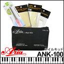 ARIA/アリア ANK-100/ANK100 ネイルキット/ネイルケアセット ポーチ付 爪の補強やお手入れに!【RCP】【P2】