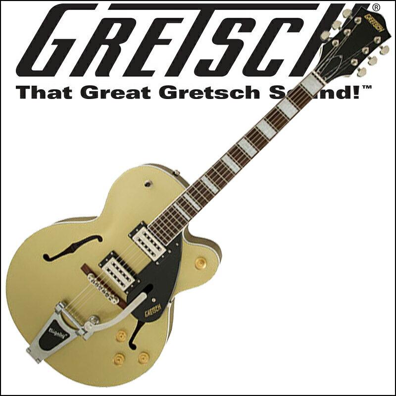 【正規品で安心♪♪】GRETSCH G2420T Streamliner Hollow Body with Bigsby Gold Dust グレッチ(エレキギター)ストリームライナー・コレクション【RCP】【P5】