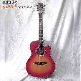 MORRIS/モーリス R-14/CS チェリーサンバースト グランド・オーディトリウム トップ単板モデル 日本製 エレアコ アコースティックギター【RCP】【P2】