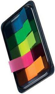DCMR 文具 ポケット ノート メモ帳 付箋 5色 セット 付箋は交互 に 引き抜けて 使いやすい♪