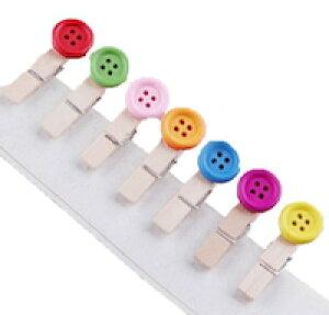 DCMR 文具 クリップボード 可愛く デコレーション フランスの少女 シンプル デザイン カラフル ボタン プレゼント に最適 手作り の 風合い が キュート ナチュラル 可愛い アイテム