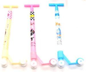 DCMR 文具 ポップ キックボード ボールペン【 3本 セット 】 癒し 大人買い 全色セット!