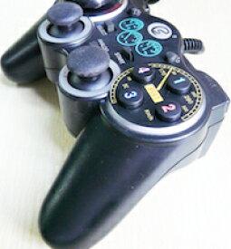 DCMR USB 接続 振動 PU850 パソコン ゲーム リモコン パイロット スピード レーサー デザイン