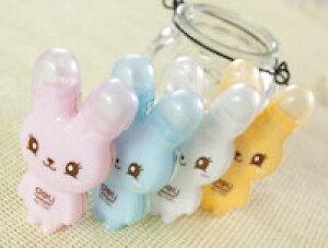 DCMR 【 1 点 】 修正テープ キャラクター ウサギ ラビット デザイン ポップ 耳 キャップ お楽しみカラー