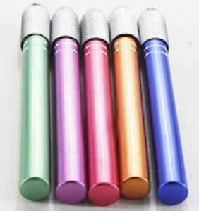 DCMR 【 1 点 】 鉛筆 延長 キャップ メタル カラフル ストライプ お楽しみカラー シンプル デザイン