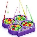 DCMR ワクワク 魚釣り 4人 対戦 テーブル 磁石 マグネット フィッシング ゲーム お楽しみカラー