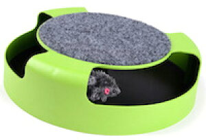 DCMR ペット用品 Catch the mouse 猫 遊び ネズミ が 回転 走り回る クルクル トンネル