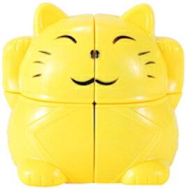 DCMR トイ ルービック キューブ 特殊 珍しい 2列 タイプ 幸福 招き猫 金運アップ 1点