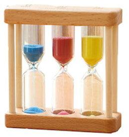 DCMR 生活 砂時計 歯磨き キッチン アナログタイマー 1分3分5分 1点 カラー